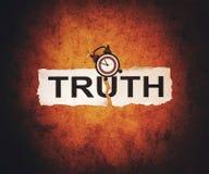 Время для правды иллюстрация штока