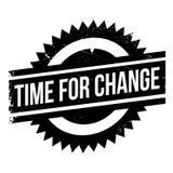 Время для штемпеля изменения Стоковое Фото