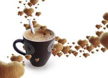 время coffe Стоковое Изображение RF