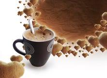 время coffe стоковая фотография