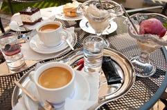 Время Coffe Стоковая Фотография RF