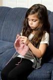 время knit к стоковая фотография