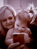 Время Selfie Стоковые Фото