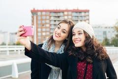 Время Selfie Стоковые Изображения RF