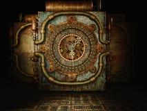 Время Steampunk иллюстрация штока