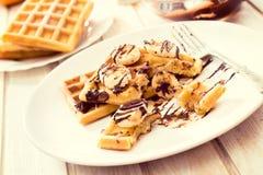 Время Waffles Стоковая Фотография