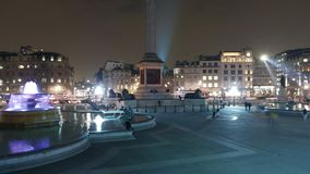 Врем-Упущение-съемка моста Лондона башни на упущении захода солнца гипер видеоматериал