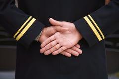 вручает военноморского рекрута Стоковые Фото