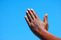 вручает молитву Стоковое Изображение RF
