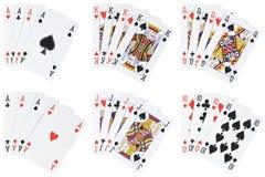 вручает покер Стоковое фото RF