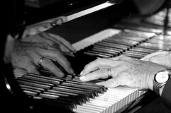 вручает рояль Стоковое Изображение