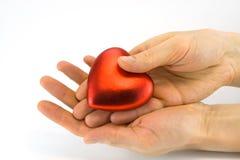 вручает сердце Стоковые Фотографии RF