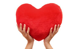вручает сердце Стоковое Изображение RF