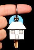 вручающ ключей сверх Стоковая Фотография RF