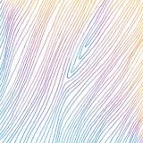 Вручите вычерченным линии покрашенные конспектом тонкие на белой предпосылке Напоминает деревянную текстуру бесплатная иллюстрация