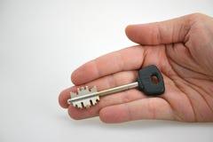вручите ключа Стоковые Фото