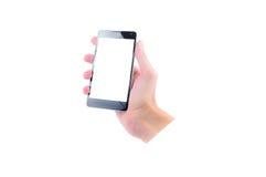 вручите мобильный телефон Стоковое Изображение RF
