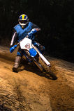 Всадник велосипеда Enduro Стоковое фото RF