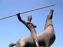 всадник памятника Стоковое Фото