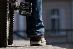 всадник bike урбанский Стоковое Фото