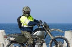 всадник motocross Стоковые Фото