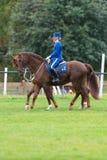 2 всадника от конной охраны Стоковое фото RF