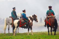 Всадники лошади Стоковые Фото