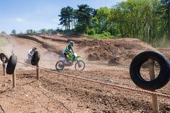 Всадники Motocross Стоковое фото RF