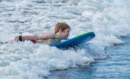 Всадник волны Стоковые Фото