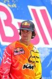 Всадник Ронни Renner Motorcross Стоковые Фото