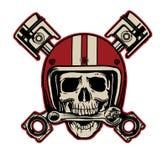 Всадник черепа Стоковые Фотографии RF