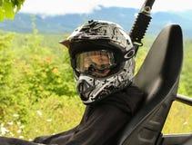 Всадник ATV Стоковые Фото