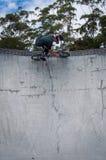 Всадник BMX Стоковые Фотографии RF