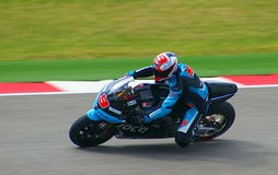 Всадник Danilo Petrucci мотоцикла MotoGP стоковая фотография rf