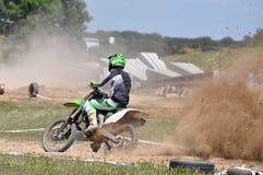 Всадник Motocross Стоковая Фотография