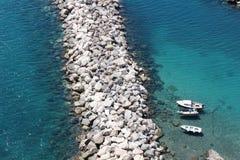 Всегда в влюбленности ‹â€ ‹â€ Средиземное море Стоковые Изображения