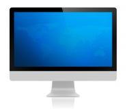 Всегда строимый дисплей настольного компьютера Стоковое Изображение RF