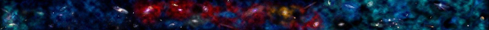 вселенный звезды предпосылки Стоковое Изображение RF