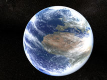вселенный земли иллюстрация вектора