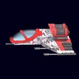 вселенный космического корабля sci fi Стоковое Изображение