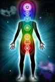 вселенный chakra тела Стоковые Фотографии RF