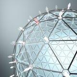 Всемирная принципиальная схема соединений Стоковое Фото