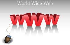 Всемирная сеть Стоковое Изображение RF