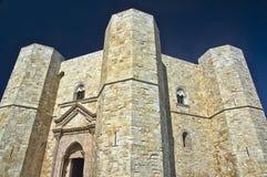 Всемирное наследие Италия Castel del Monte ЮНЕСКО Места Стоковое фото RF