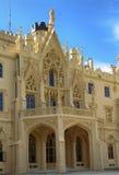 Всемирное наследие ЮНЕСКО, дворец Lednice Стоковая Фотография