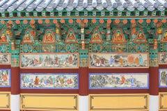 Всемирное наследие ЮНЕСКО Кореи - висок Haeinsa Стоковое Изображение