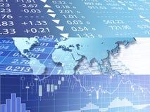 Всемирный рынок Стоковая Фотография RF