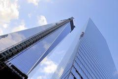Всемирный торговый центр, Манхаттан, Нью-Йорк, NY Стоковое Изображение RF