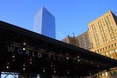 Всемирный торговый центр, Нью-Йорк, США Стоковые Фотографии RF