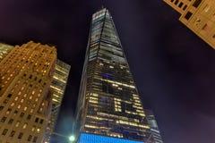 Всемирный торговый центр - Нью-Йорк Стоковое Изображение RF
